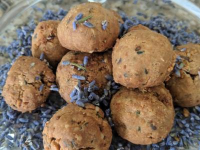 Homemade Lavender Hemp All Natural Dog Treats