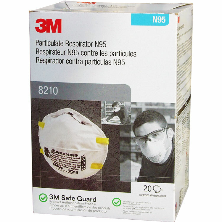 3M 8210 N95 Face Masks (20-pack) 21199