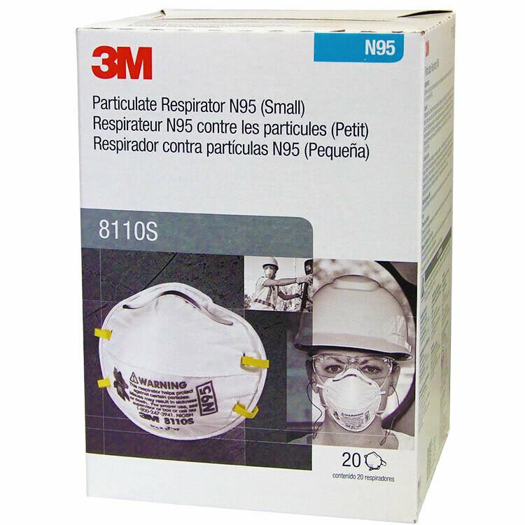 3M 8110s N95 Face Masks (20-pack)