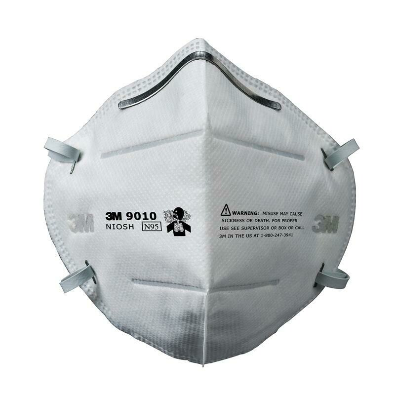 3M 9010 N95 Face Masks (100 Masks)