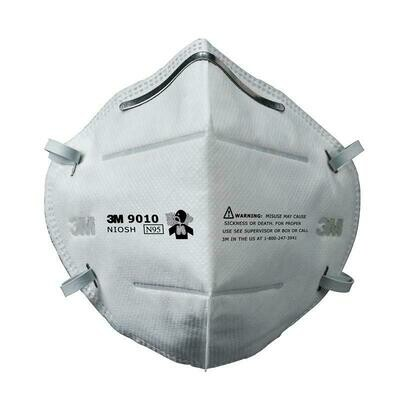 3M 9010 N95 Face Masks (10 Masks)