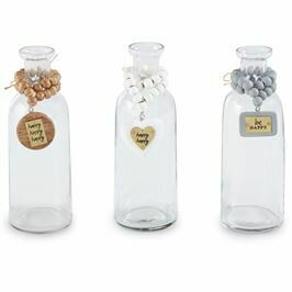 Vase Happy Bud w/ Beads