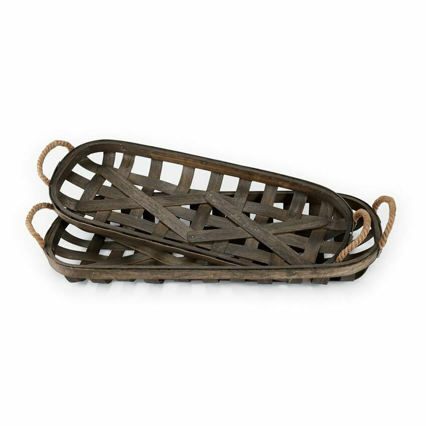 Basket Tobacco Tray (set)