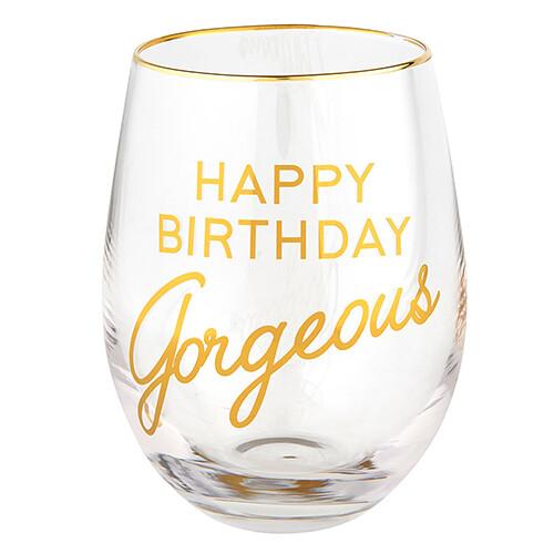 Wine Glass HBD Gorgeous