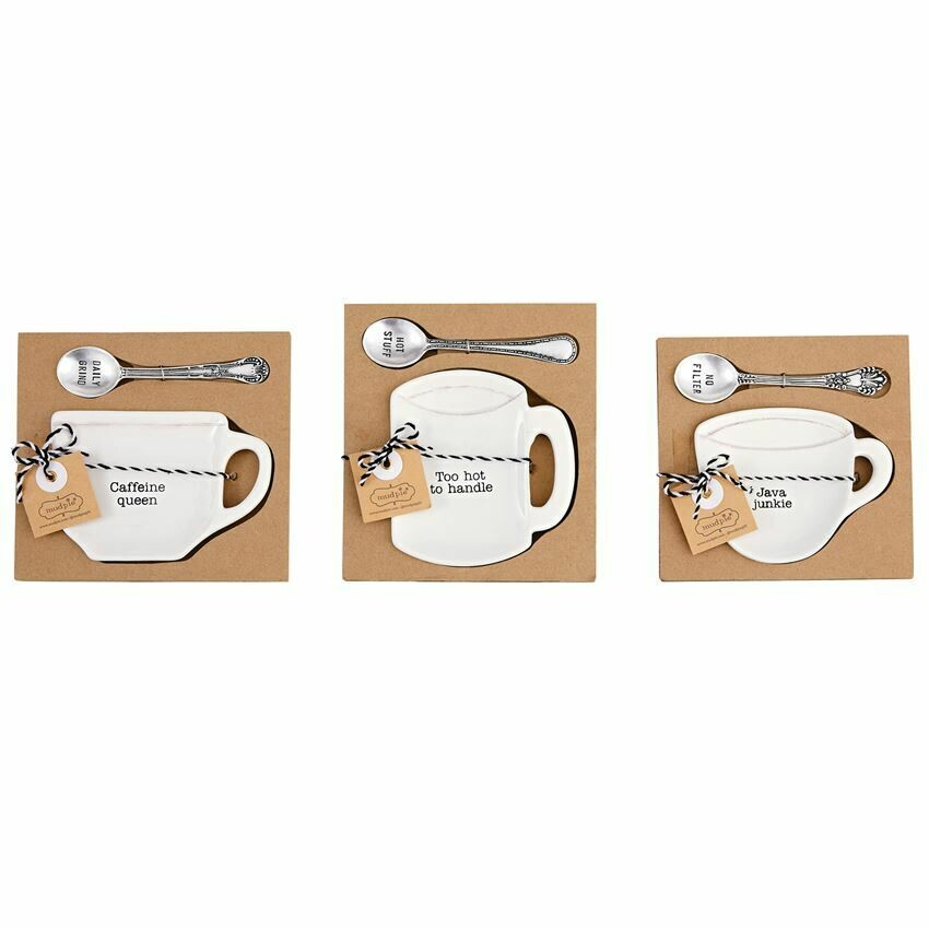 Spoon Caffeine Coffee Set