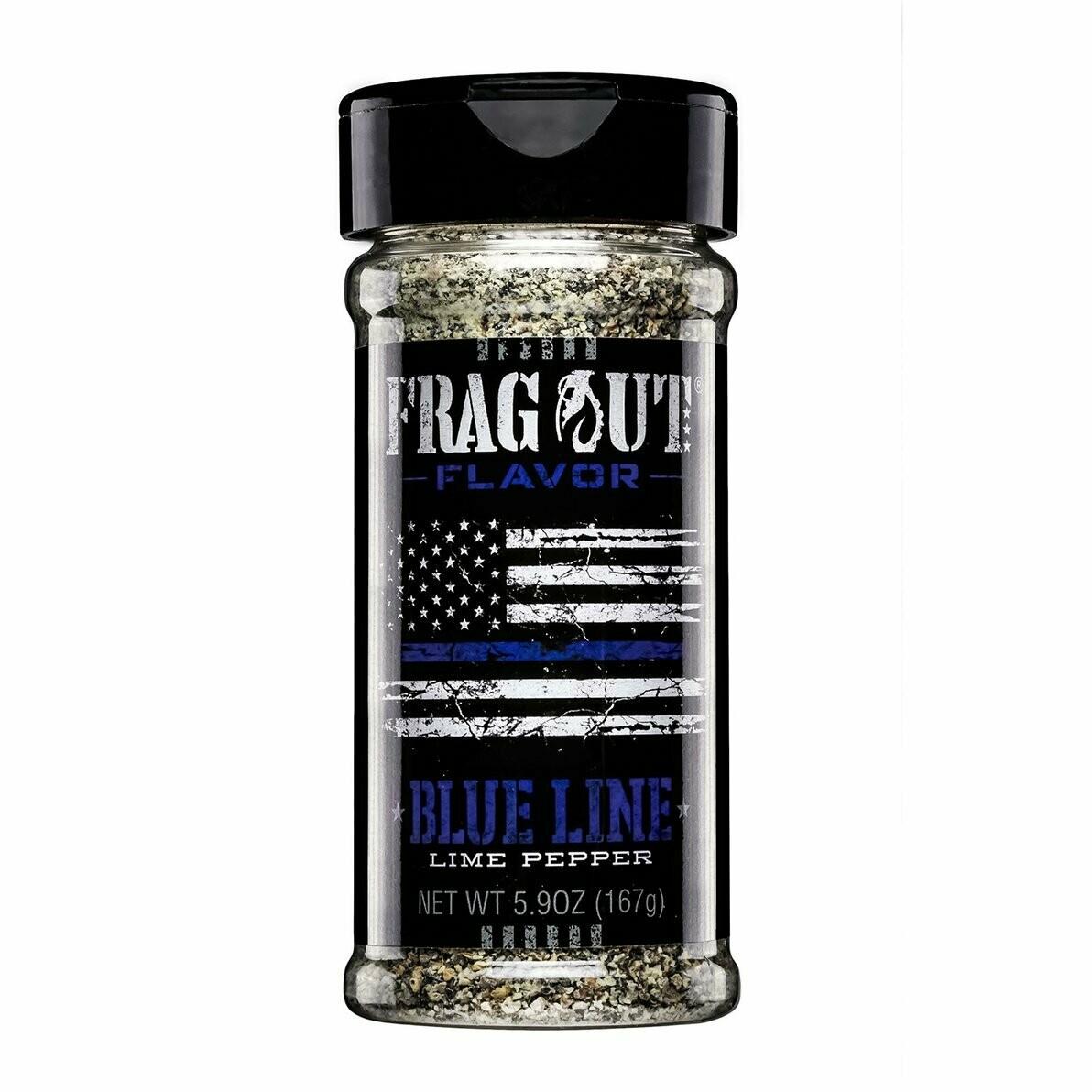 Frag Out Blue Line