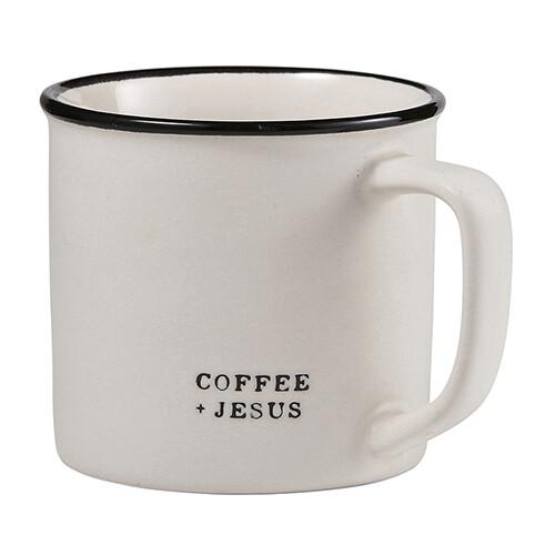 Mug Coffee + Jesus