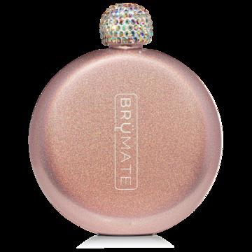 BM Flask Glitter Rose Gold
