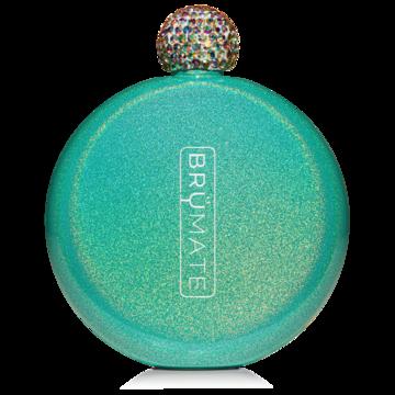BM Flask Glitter Peacock