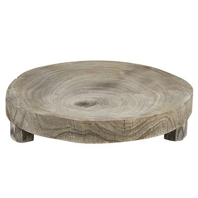 Grey Wood Riser Medium