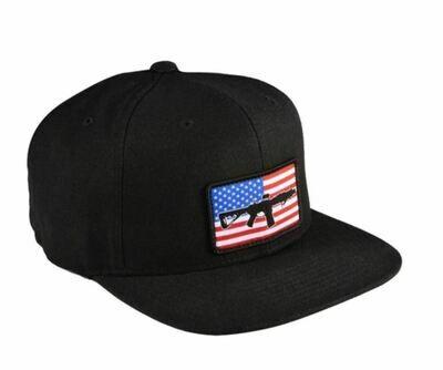 BRC Hat AR Flag Flat Bill