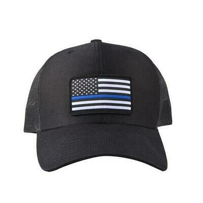 BRC Hat Blue Line US Flag