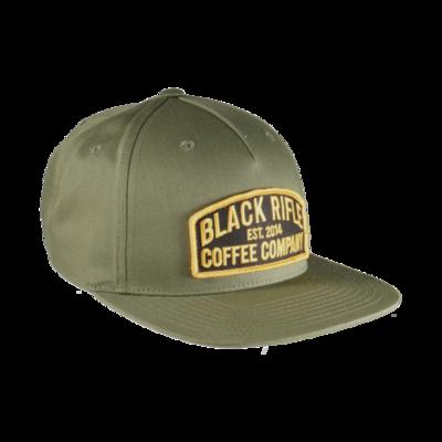 BRC Hat Est. Pinch Front Olive