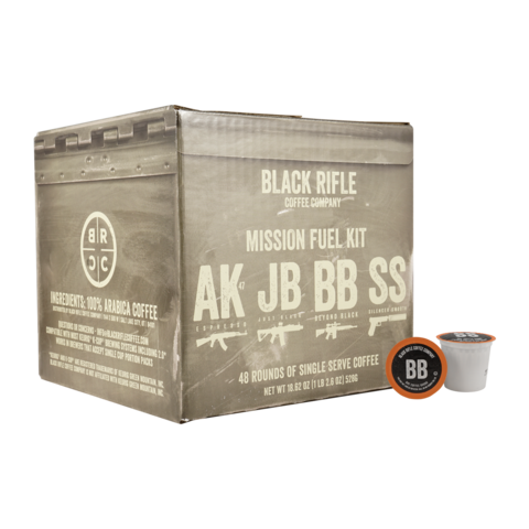 BRC Rounds Mission Fuel Kit 48ct