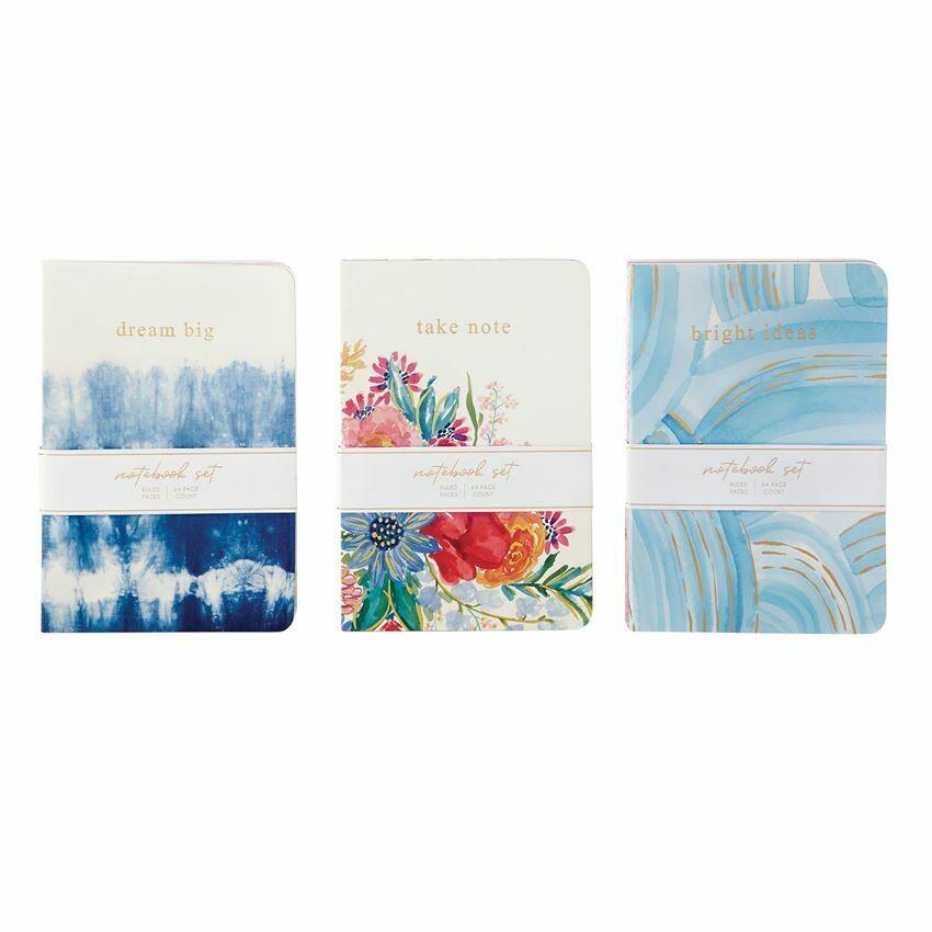 Notebook Trio Floral
