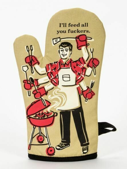 Oven Mitt Feed You