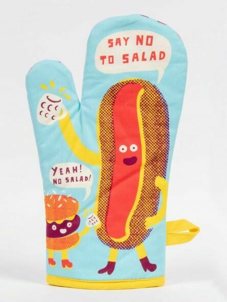 Oven Mitt Say No To Salad