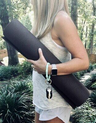 Bracelet Silicone Keychain