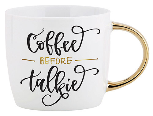 Mug Talkie Gold Handle