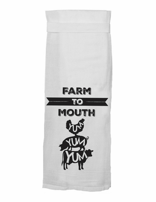 Towel Farm to Mouth
