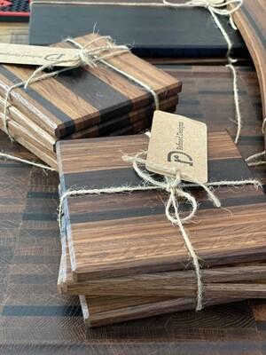 Wood Coasters Lg Thin