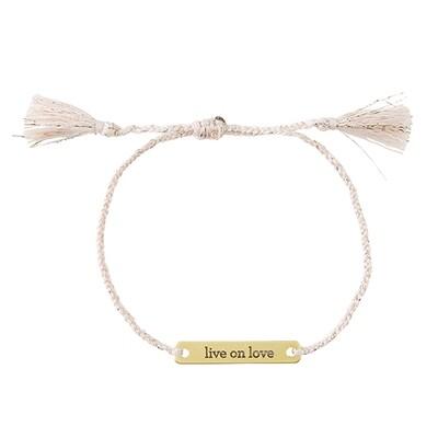 Bracelet Live on Love