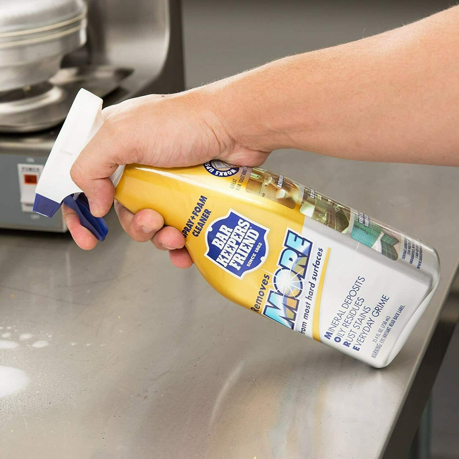 Bar Keepers Friend Spray Cleaner