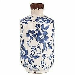 Vase Vintage Blue Lg