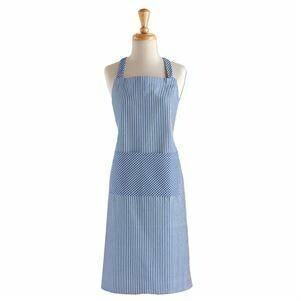 Apron French Blue Stripe