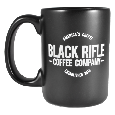 BRC Mug America's Coffee Logo