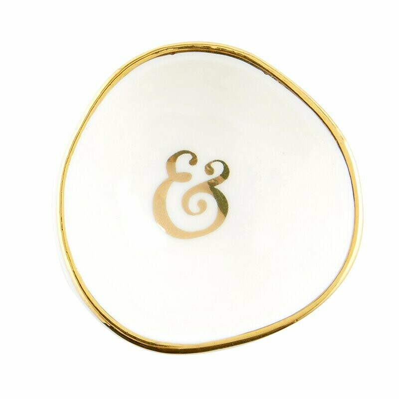Ring Dish Ampersand