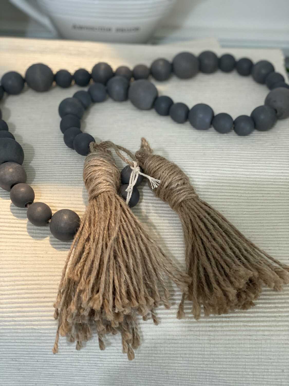 Garland Beads w/ Tassels