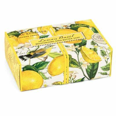 Soap Boxed Lemon Basil