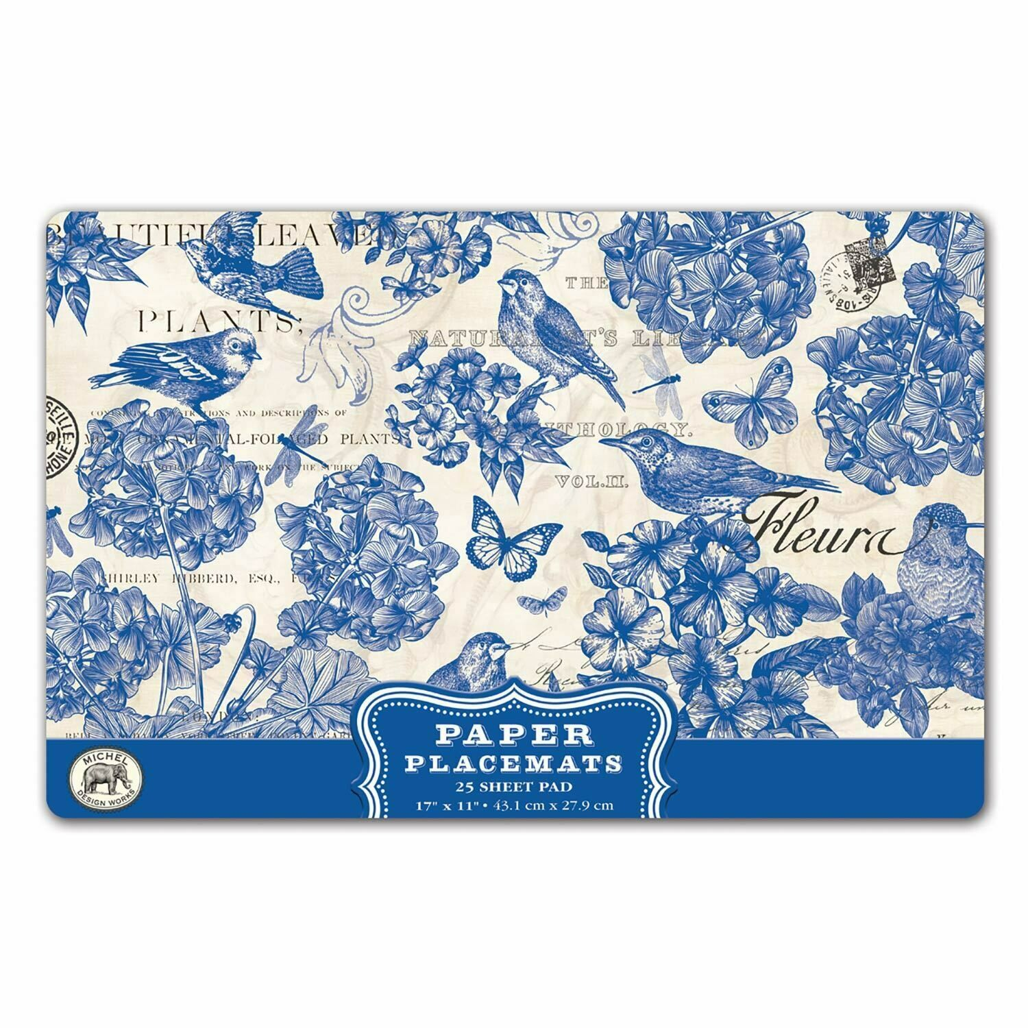 Placemats Paper Indigo Cotton