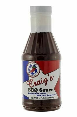 Craig's BBQ Sauce