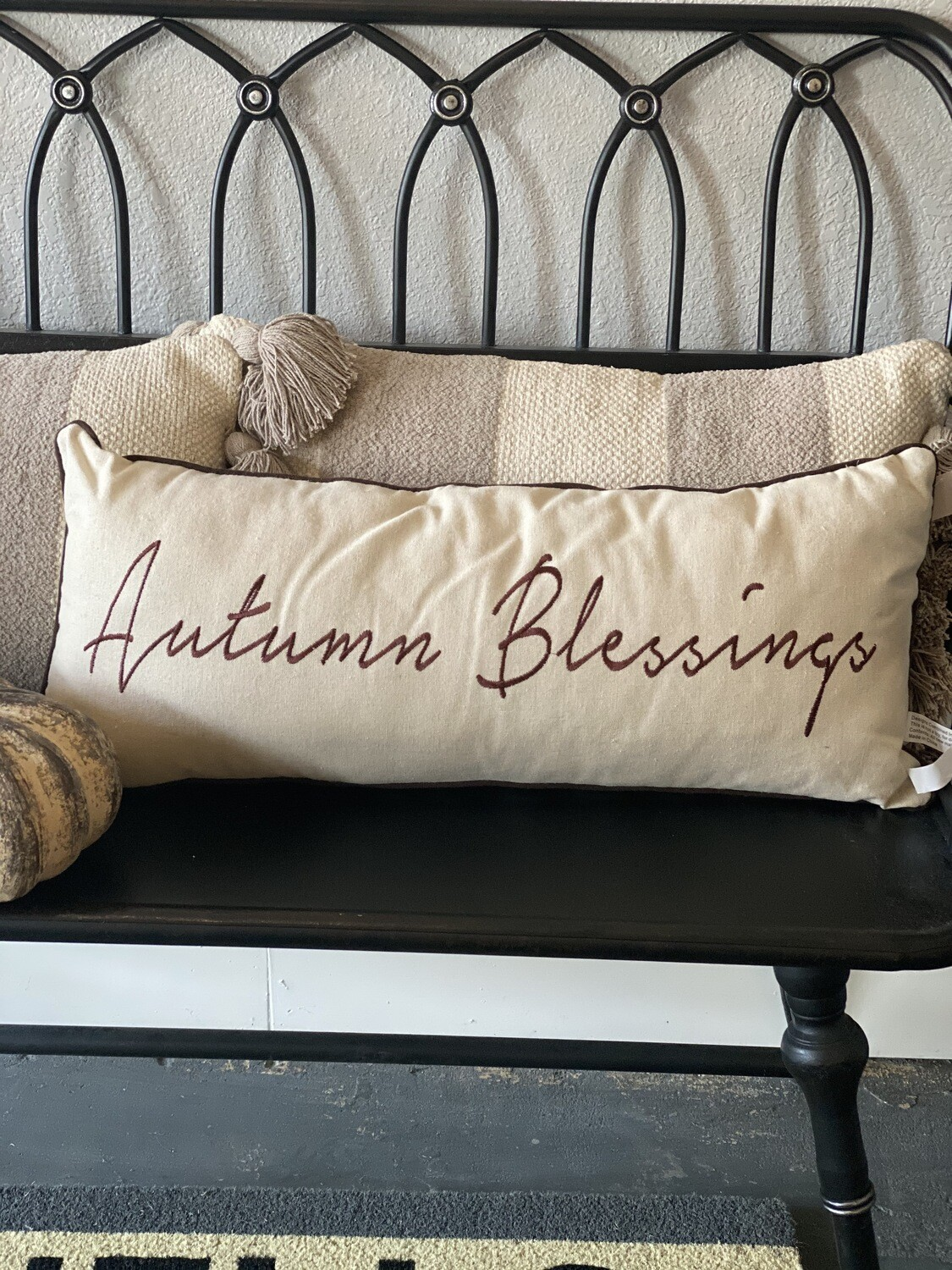 Pillow Autumn Blessings