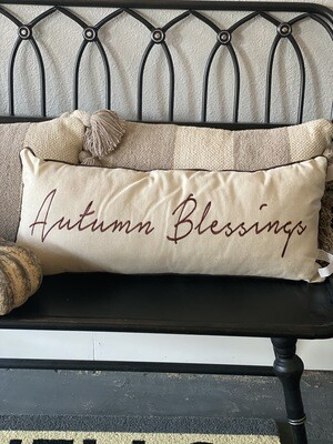 Pillow-Autumn Blessings