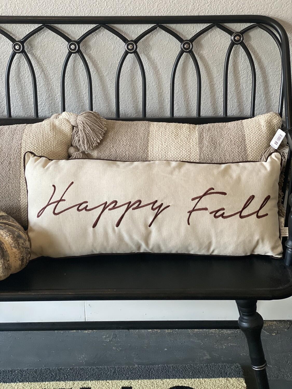 Pillow Happy Fall