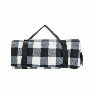 Blanket Fleece Picnic B&W