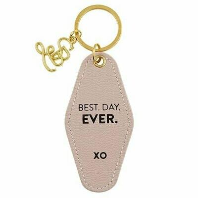 Keychain Best Day Ever