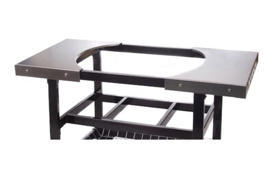 Primo - Stainless Side Shelves Oval XL & LR
