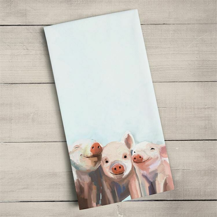 Towel Three Little Piggies