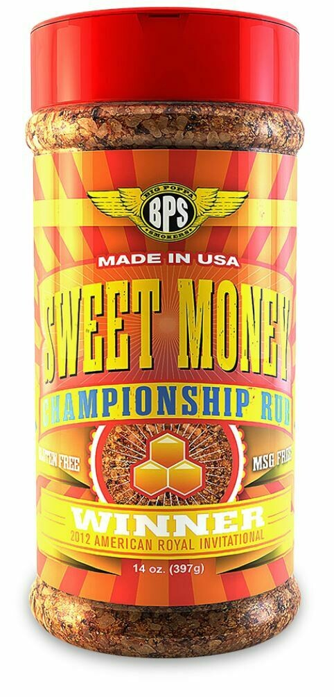 Sweet Money BBQ 14 0z