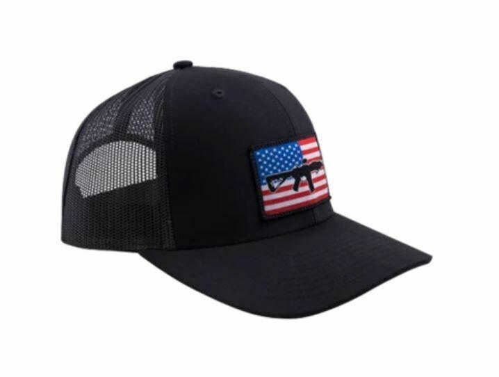 BRC Hat Flag Patch Trucker Black