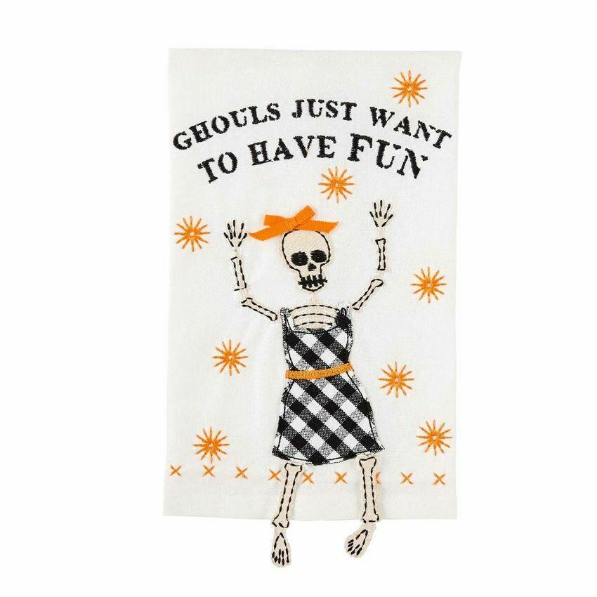 Towel Ghouls Dangle Skeleton