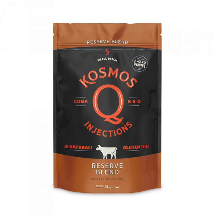 Kosmos Reserve Blend Brisket injection