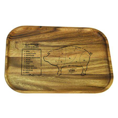 Steak Plate Pig