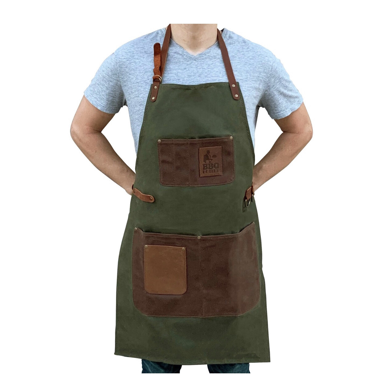 Apron Wax Canvas Green
