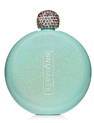 BM Flask Glitter Aqua