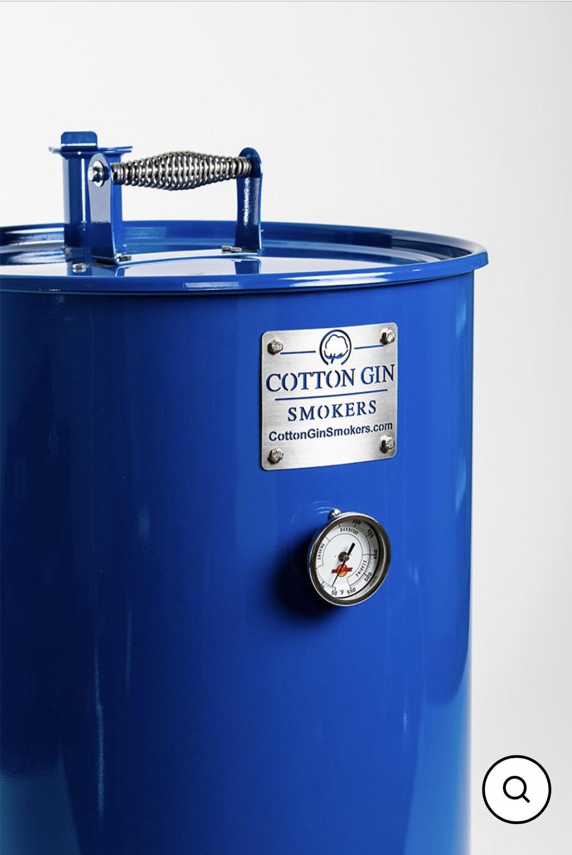 Cotton Gin Reaper Blue